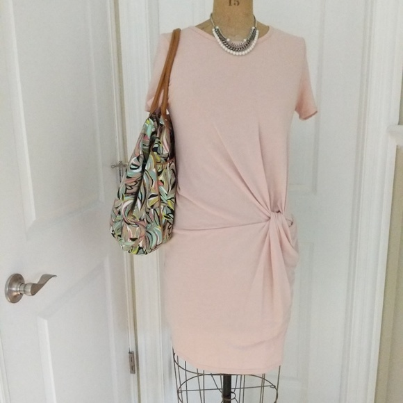 6a17c84ec285 Dee Elly Dresses | Blush Pink Sweater Dress Size Large | Poshmark